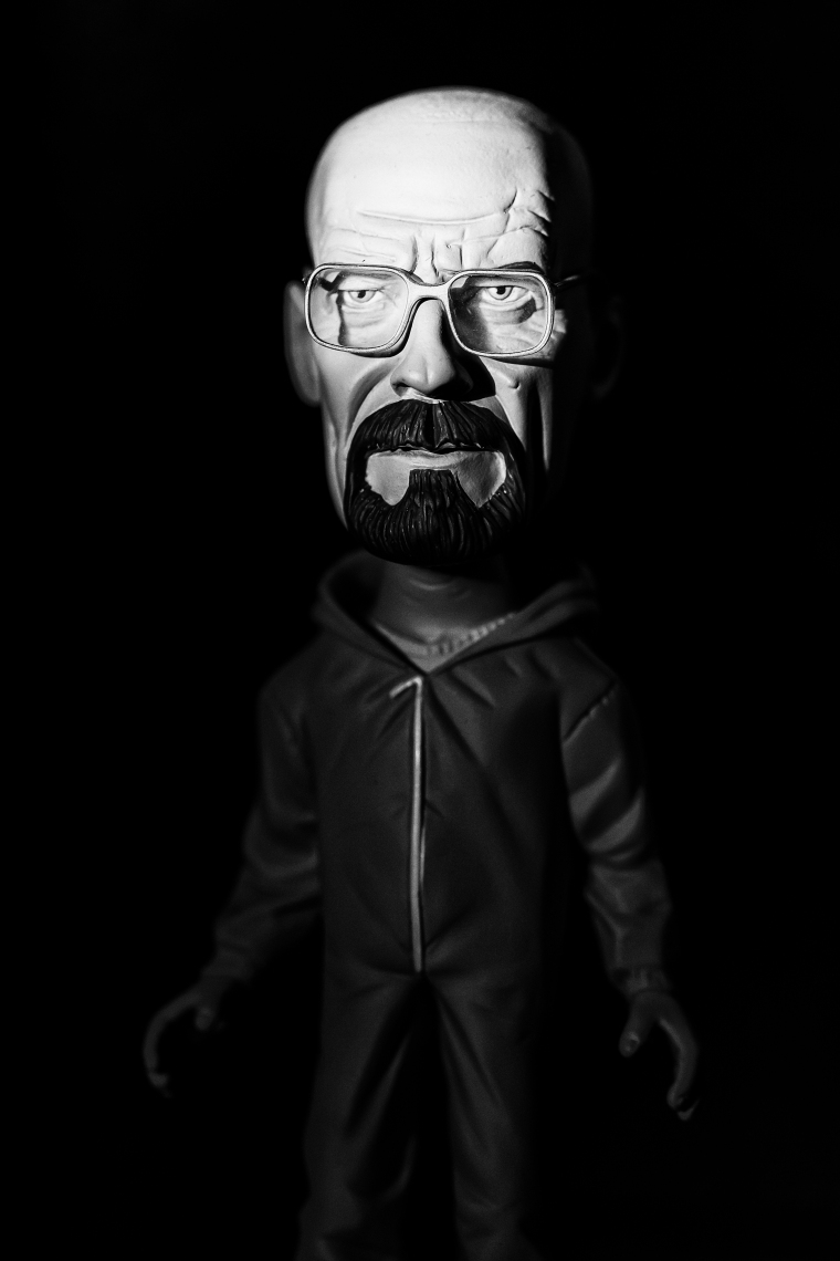 """You clearly don't know who you're talking to, so let me clue you in. I am not in danger, Skyler. I am the danger. A guy opens his door and gets shot, and you think that of me? No! I am the one who knocks!"""