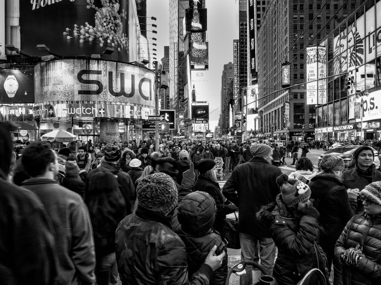 Times Square 3 (b/w)